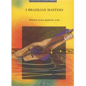 COLLECTIF - BRAZILIAN MASTERS (3) - GUITARE