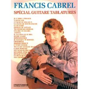 CABREL FRANCIS - BEST OF SPECIAL TABLATURE