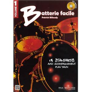 COMPILATION - BATTERIE FACILE VOL.1 + CD