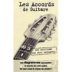ROUX DENIS - MINI DICTIONNAIRE ACCORDS GUITARE