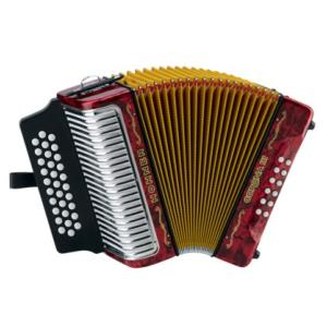ACCORDEON DIATONIQUE HOHNER CORONA III