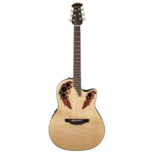 GUITARE FOLK ELECTRO OVATION CE44-4 CELEBRITY ELITE MID CUTAWAY NATUREL
