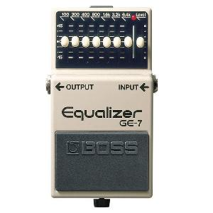 PEDALE EFFETS EQUALIZER BOSS GE-7