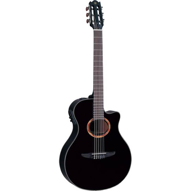guitare classique electro acoustique yamaha ntx 700 noir paul. Black Bedroom Furniture Sets. Home Design Ideas
