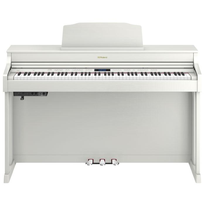 piano numerique meuble roland hp603 wh paul. Black Bedroom Furniture Sets. Home Design Ideas