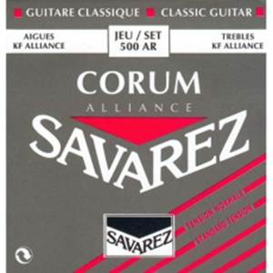JEU CORDES CLASSIQUE SAVAREZ 500 AR CORUM ALLIANCE TIRANT NORMAL