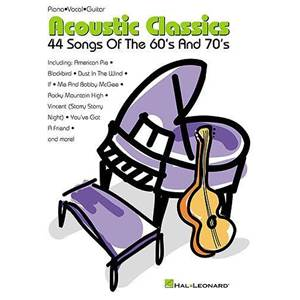 COMPILATION - ACOUSTIC CLASSICS 44 SONGS OF THE 60'S AND 70'S P/V/G