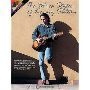 SULTAN KENNY - BLUES STYLES TAB. + CD