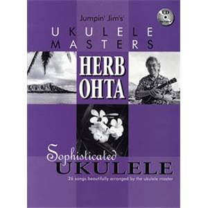 OHTA HERB - UKULELE MASTERS 26 SONGS TAB. + CD