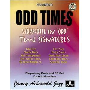 COMPILATION - AEBERSOLD 090 ODD TIMES TAKE FIVE AND OTHERS + CD