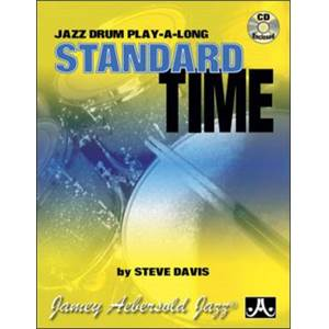 COMPILATION - JAZZ DRUMS STYLES STANDARD TIME + CD