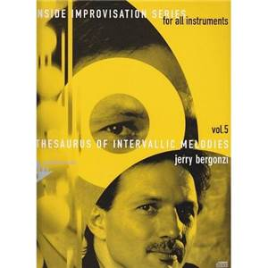 BERGONZI JERRY - INSIDE IMPROVISATION VOL.5 INTERVALLIC MELODIES + CD