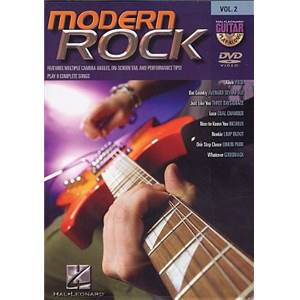 COMPILATION - GUITAR PLAY ALONG DVD VOL.02 MODERN ROCK