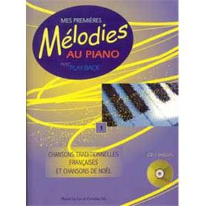 LE COZ MICHEL - MES PREMIERES MELODIES AU PIANO VOL.1 + CD