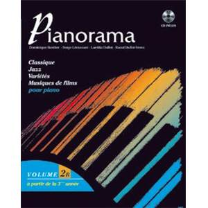 BORDIER/DUFLOT/LECUSSANT - PIANORAMA VOL.2B + CD