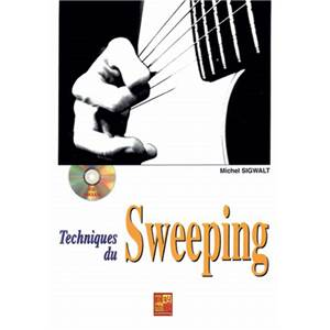 SIGWALT M. - TECHNIQUES DU SWEEPENG METHODE GUITARE + CD
