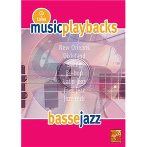 FDBAND - MUSIC PLAYBACKS BASSE JAZZ + CD