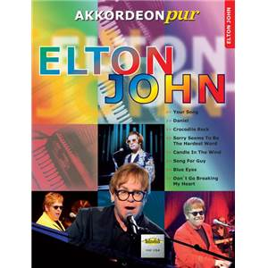 JOHN ELTON - AKKORDEON PUR ELTON JOHN POUR ACCORDEON