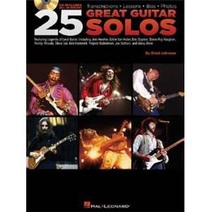 COMPILATION - 25 GREAT GUITAR SOLOS + CD