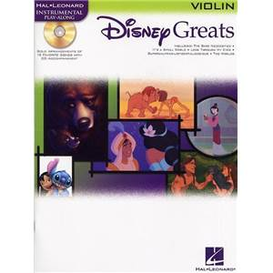 DISNEY - GREATS VIOLIN + CD
