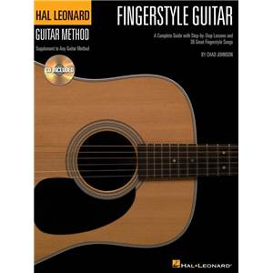 JOHNSON CHAD - GUITAR METHOD FINGERSTYLE GUITAR + CD