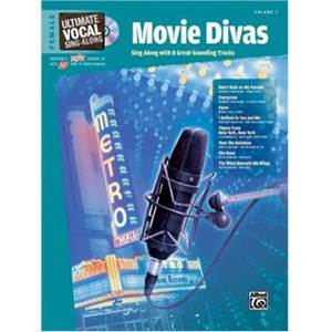 COMPILATION - ULTIMATE VOCAL VOL.1 BROADWAY DIVAS 8 TRACKS FEMALE+ CD