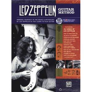 LED ZEPPELIN - GUITAR METHOD + CD Épuisé
