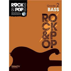 COMPILATION - TRINITY COLLEGE LONDON : ROCK & POP GRADE 2 FOR BASS + CD