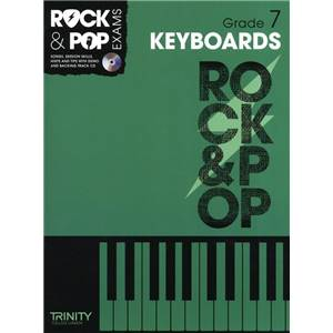 COMPILATION - TRINITY COLLEGE LONDON : ROCK & POP GRADE 7 FOR KEYBOARD + CD