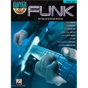 COMPILATION - GUITAR PLAY ALONG VOL.052 FUNK + CD
