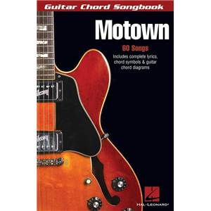 COMPILATION - GUITAR CHORD SONGBOOK MOTOWN