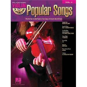 COMPILATION - VIOLIN PLAY ALONG VOL.002 POPULAR SONGS + CD
