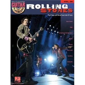 ROLLING STONES - GUITAR PLAY ALONG VOL.066 + CD