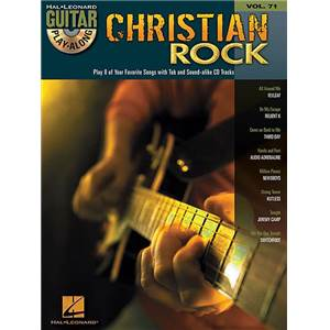 COMPILATION - GUITAR PLAY ALONG VOL.071 CHRISTIAN ROCK + CD