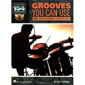 SHROEDL SCOTT - GROOVES YOU CAN USE 154 DRUMBEATS + 2CD