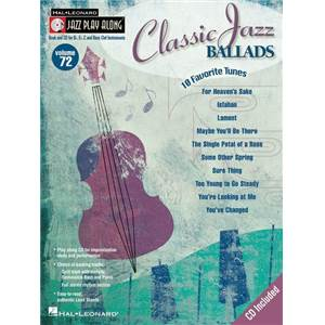 COMPILATION - JAZZ PLAY ALONG VOL.072 CLASSIC JAZZ BALLADS + CD