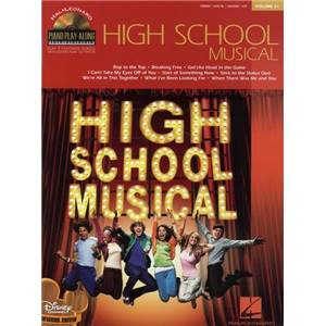 COMPILATION - PIANO PLAY ALONG VOL.051 HIGH SCHOOL MUSICAL + CD
