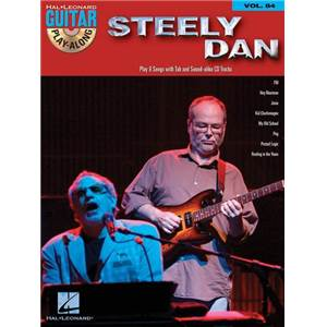 STEELY DAN - GUITAR PLAY ALONG VOL.084 + CD