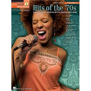 COMPILATION - PRO VOCAL FOR WOMEN SINGERS VOL.32 HITS OF THE '70S + CD