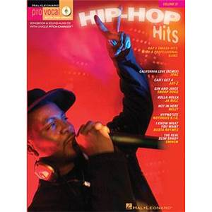 COMPILATION - PRO VOCAL FOR MALE SINGERS VOL.31: HIP HOP HITS + CD