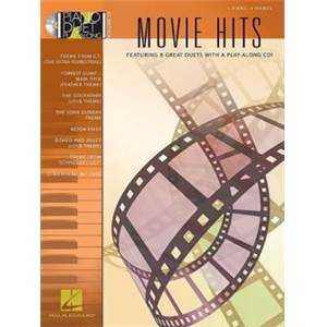 COMPILATION - PIANO DUET PLAY ALONG VOL.13 MOVIE HITS + CD
