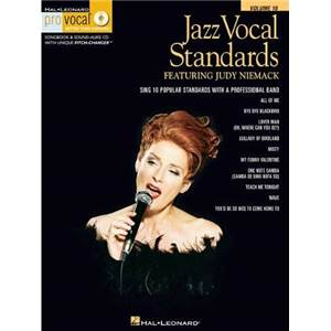 COMPILATION - PRO VOCAL FOR WOMEN SINGERS VOL.18 JAZZ VOCAL STANDARDS + CD