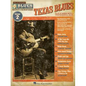 COMPILATION - BLUES PLAY ALONG VOL.2 : TEXAS BLUES + CD