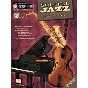 COMPILATION - JAZZ PLAY ALONG VOL.105 SOULFUL JAZZ + CD