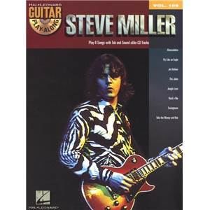 MILLER STEVE - GUITAR PLAY ALONG VOL.109 + CD