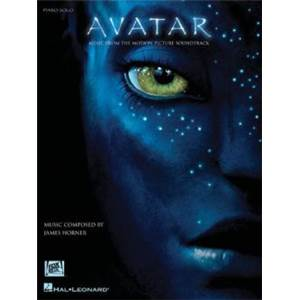HORNER JAMES - AVATAR MUSIC FROM THE MOTION PICTURE PIANO SOLO