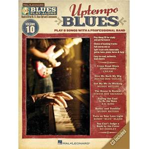 COMPILATION - BLUES PLAY ALONG VOL.10 : UPTEMPO BLUES + CD