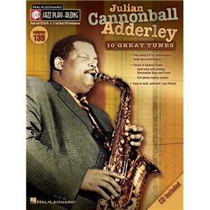 ADDERLEY CANNONBALL - JAZZ PLAY ALONG VOL.139 + CD