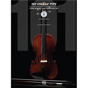 SCHMIDT ANGELA - 101 VIOLIN TIPS: STUFF ALL THE PROS KNOW AND USE + CD