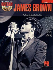 BROWN JAMES - GUITAR PLAY-ALONG VOL.171 + CD